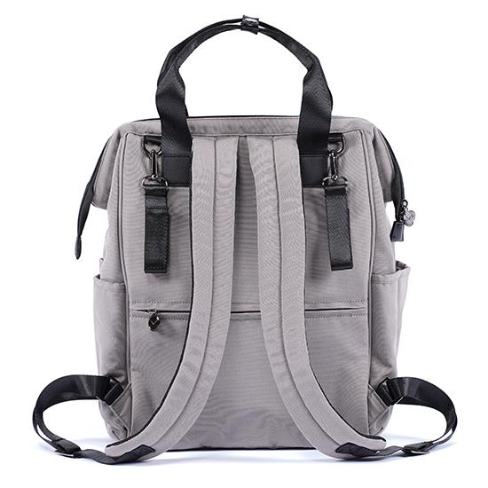 sporty backpack sand, backside MA-BPS02,backside