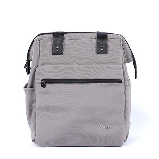 sporty backpack sand, backside MA-BPS02,front