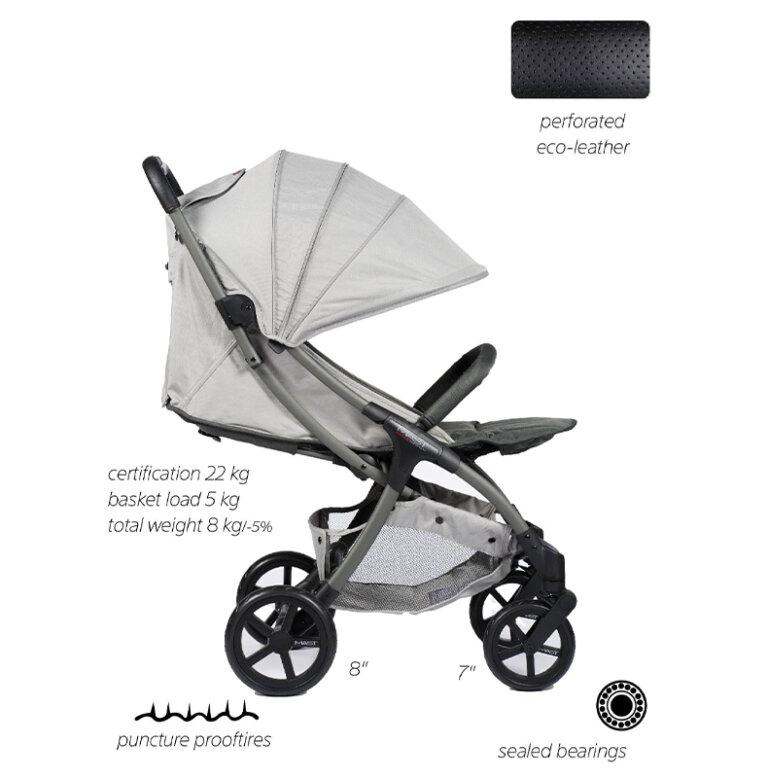 Kinderwagen / Buggy M.2x MAST Swiss Design Hersteller - Technische Daten