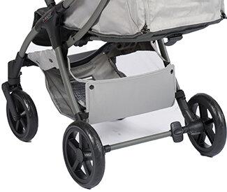 Kinderwagen / Buggy M.2x MAST Swiss Design Hersteller - forest green -  olive grün - Korb
